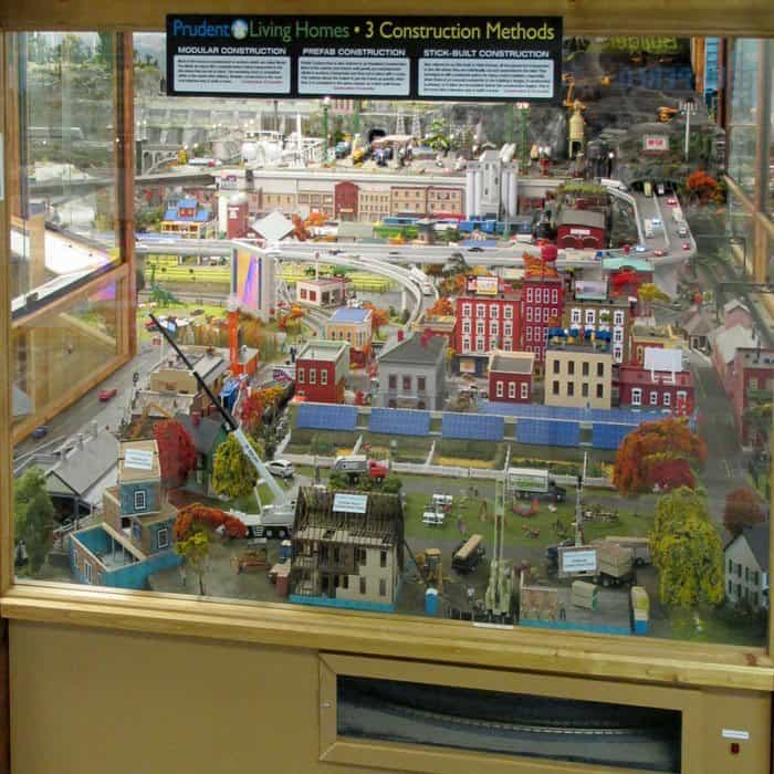 Prudent Living Train Diorama