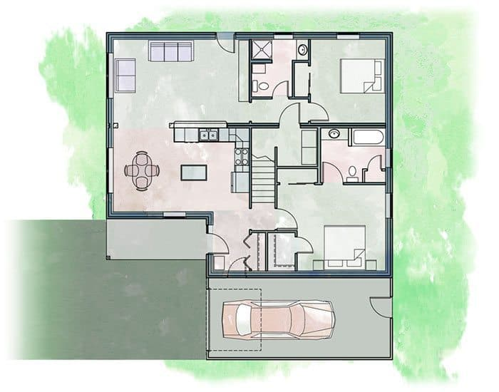 Pullman First Floor Plan
