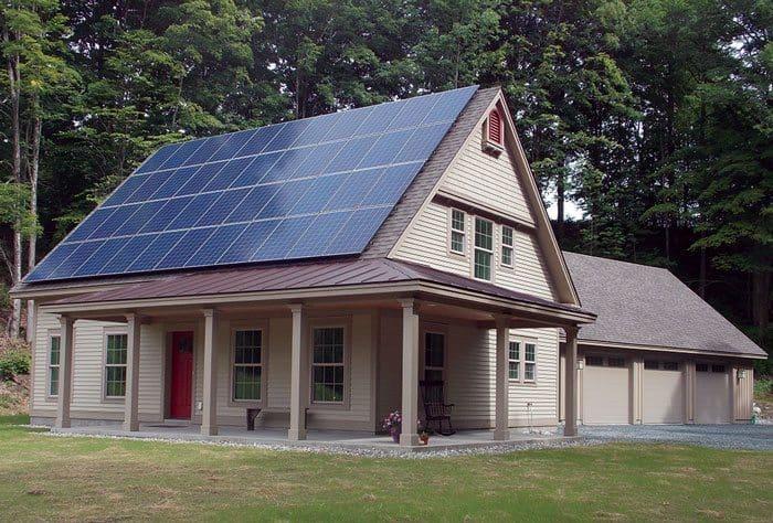A Net Zero Energy Home