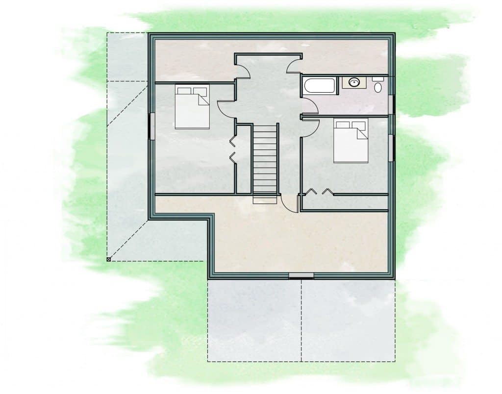 Prudent Living Daylight Zero Energy Home Plan Net Zero