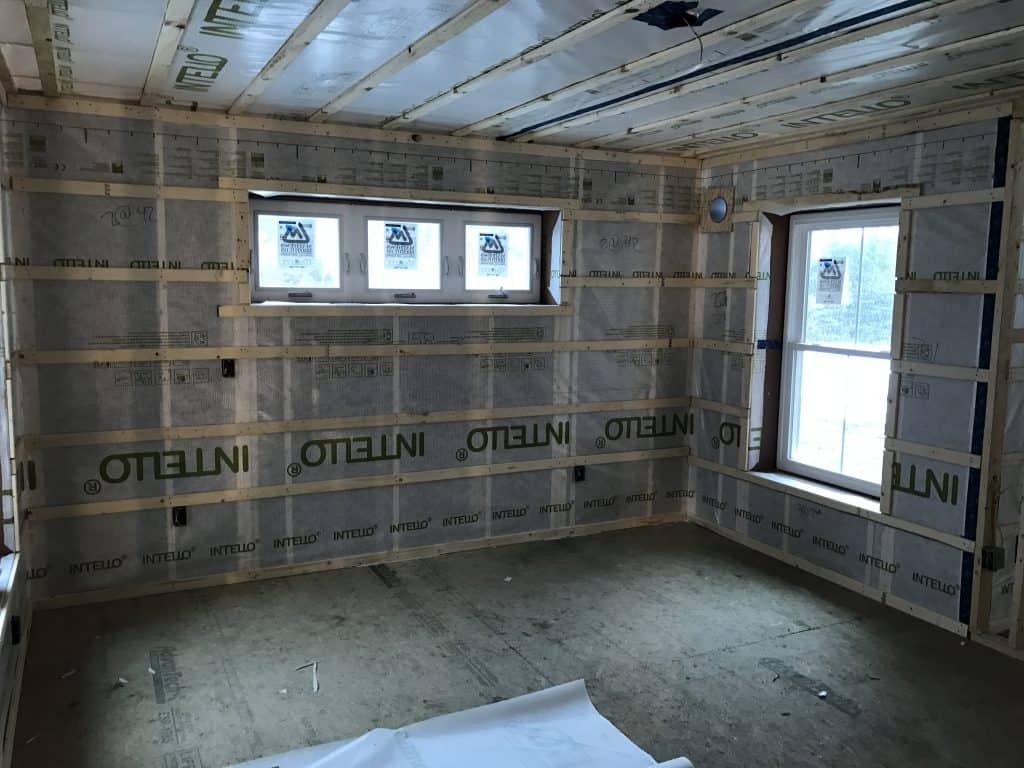 The Construction of a High-Performance Home: Week 9 17
