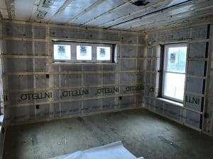The Construction of a High-Performance Home: Week 9 24