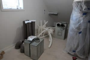 The Zehnder Ventilation System: Running The Ducting 10