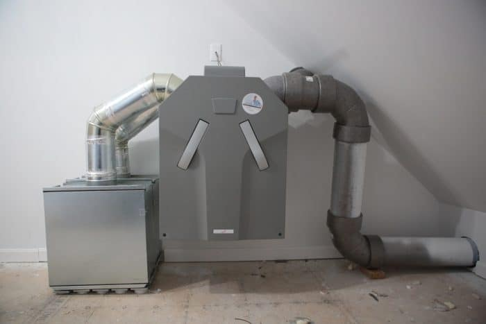 The Zehnder Ventilation System: Running The Ducting 1