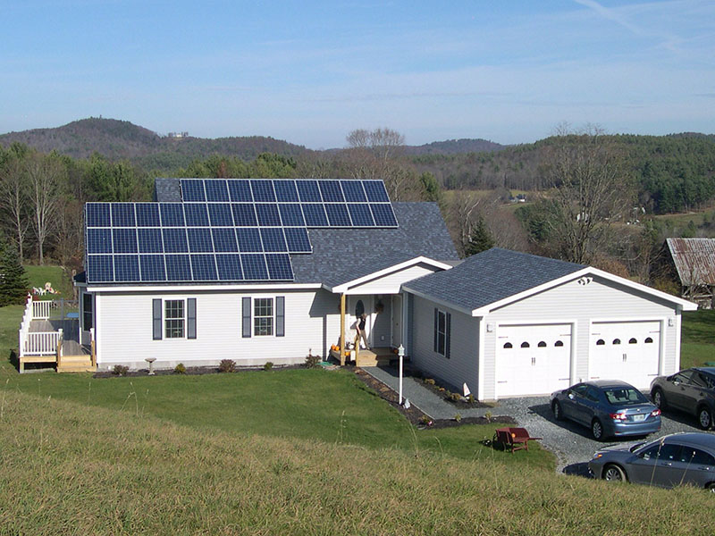 How Does a Grid-Tied Solar Photovoltaic System Work In Your High Performance Home? 1